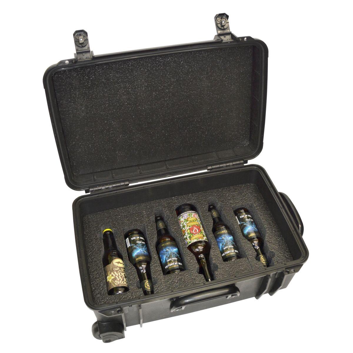 Seahorse SE-920 BC Beer Traveler 12 Custom Foam Case - Bottom Level