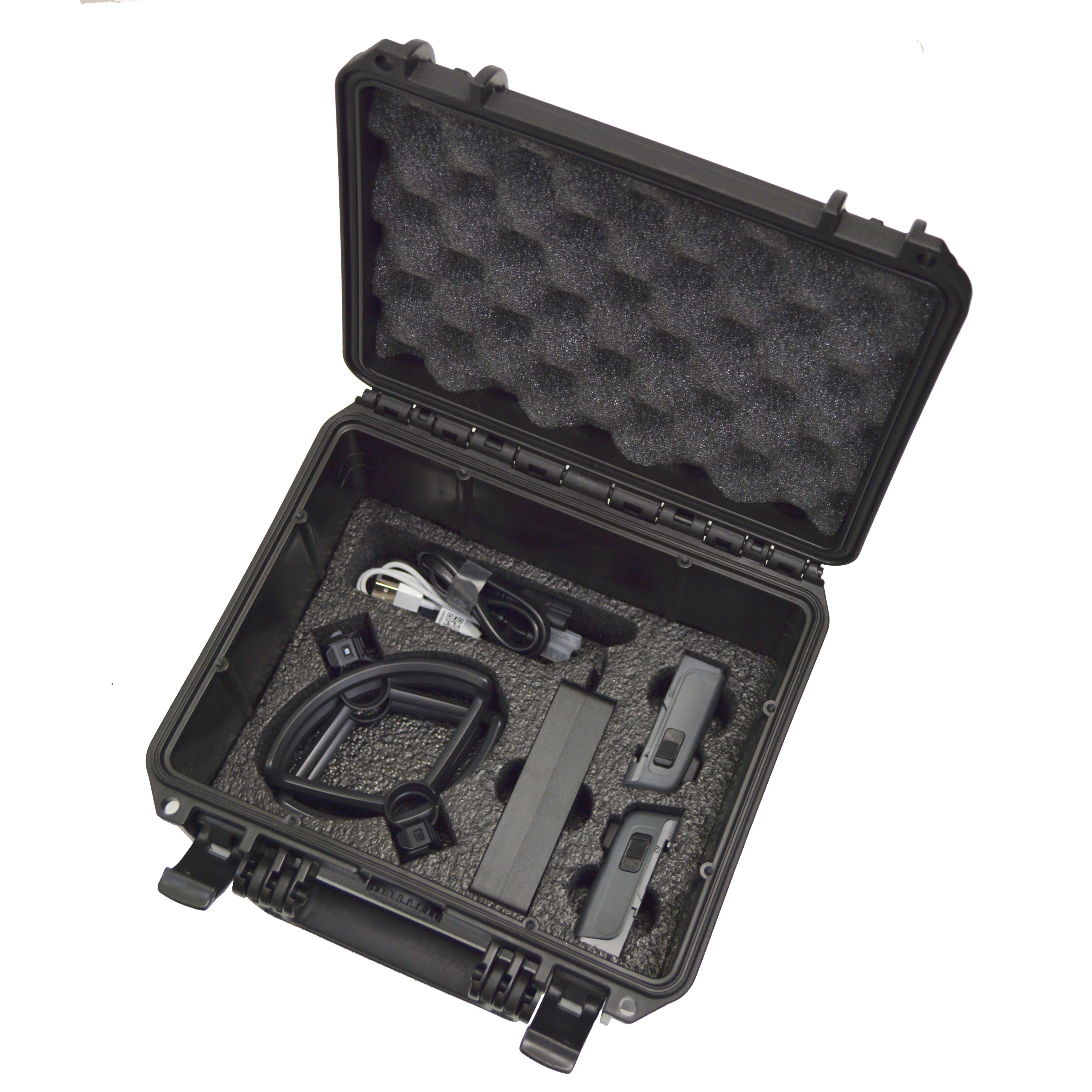 DJI Spark dual-level custom foam DORO D0907-6 case - BOTTOM LEVEL
