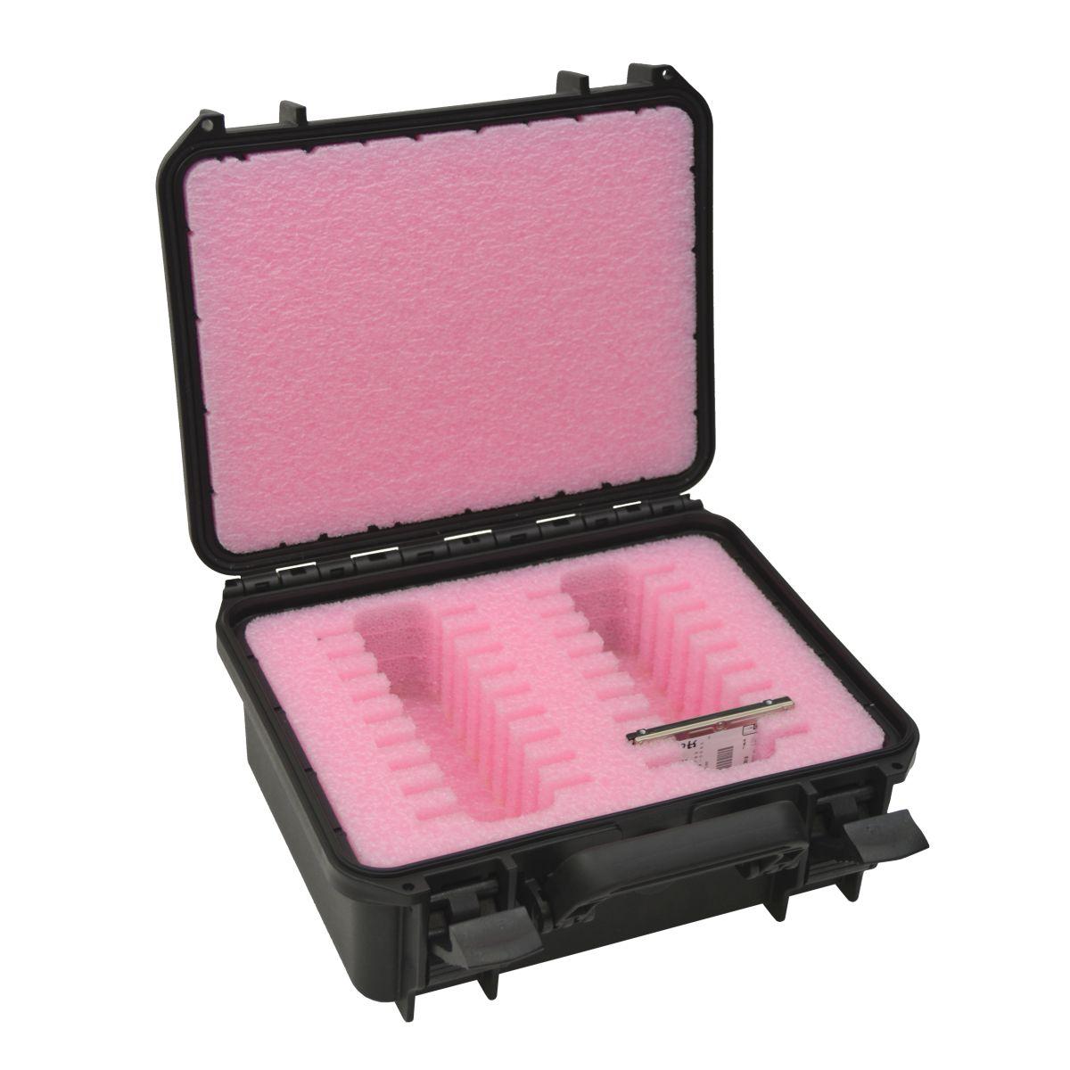 """18 x 2.5"""" SATA / PATA / IDE Hard Drive Storage Case - DORO D1109-5"""
