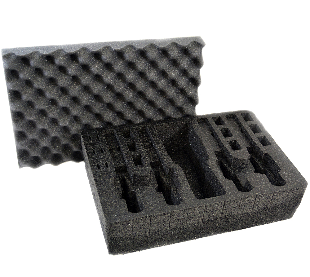 Arms Guard 4 Pistol Foam Insert for Pelican 1500 (FOAM ONLY)