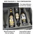 Seahorse SE-920 BC Beer Traveler 12 Custom Foam Case - Tray Configuration