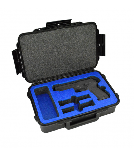 Arms Guard Single Pistol Double Magazine DORO Sport 400 Case